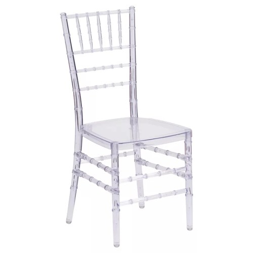Clear Stacking Chair