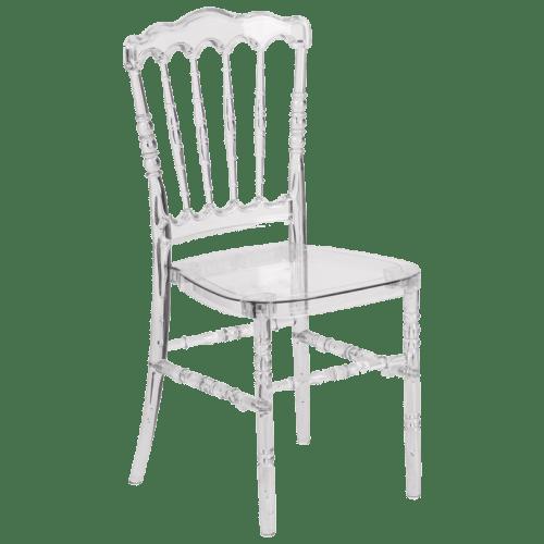 Casper Crystal Stackable Chair