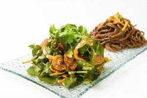 The Spicy Whelk Salad at Danji.
