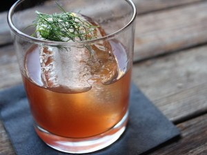 The Third Man uses chef-y ingredients in its cocktails, like Fennel.