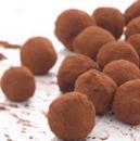 Dark Chocolate Champagne Truffles