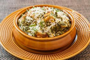 Awadh Potato Mint Biryaani lo by Maike Paul