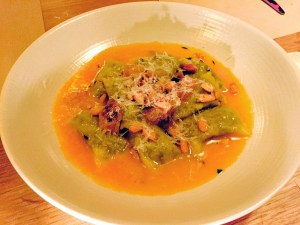 Black Kale Ravioli