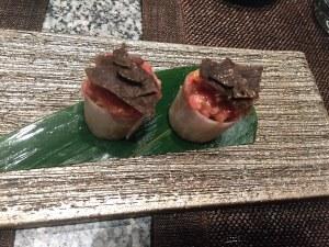 Truffle Wagyu Sushi