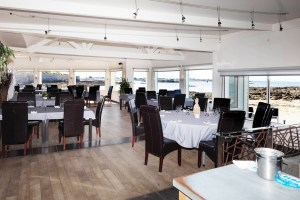 Salle de reception - Restaurant La Grande Plage, Port-Louis dans le Morbihan