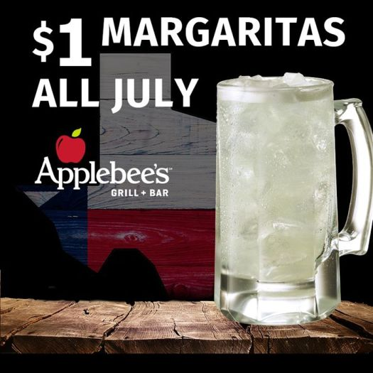 Applebee's in Texas Offer Margaritas for a Buck -
