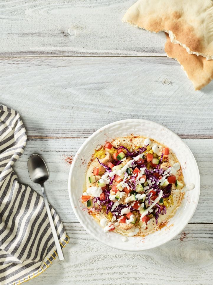 Garbanzo Invites Guests To Mix It Up With New Hummus Bowls
