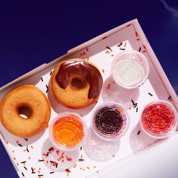 Dunkin' Shows Its Spicy Side with New Spicy Ghost Pepper Donut