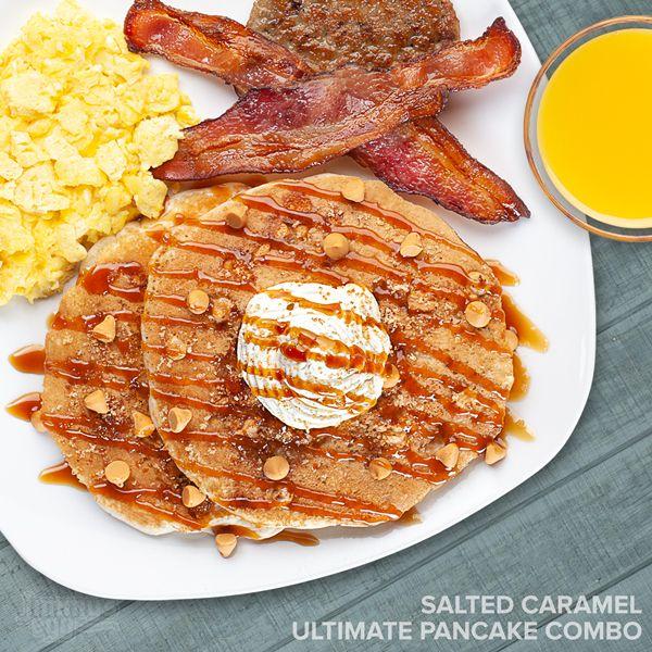 Jimmy's Egg Salted Caramel Ultimate Pancake Combo