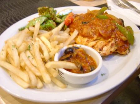 Mexican Chicken Steak - Studio cafe
