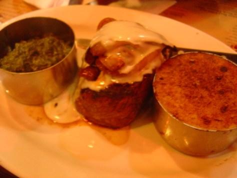 Mediterranean garlic beef steak- Gun Smoke