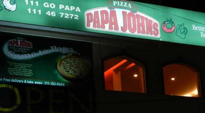 Papa John's Pizza Resurrected
