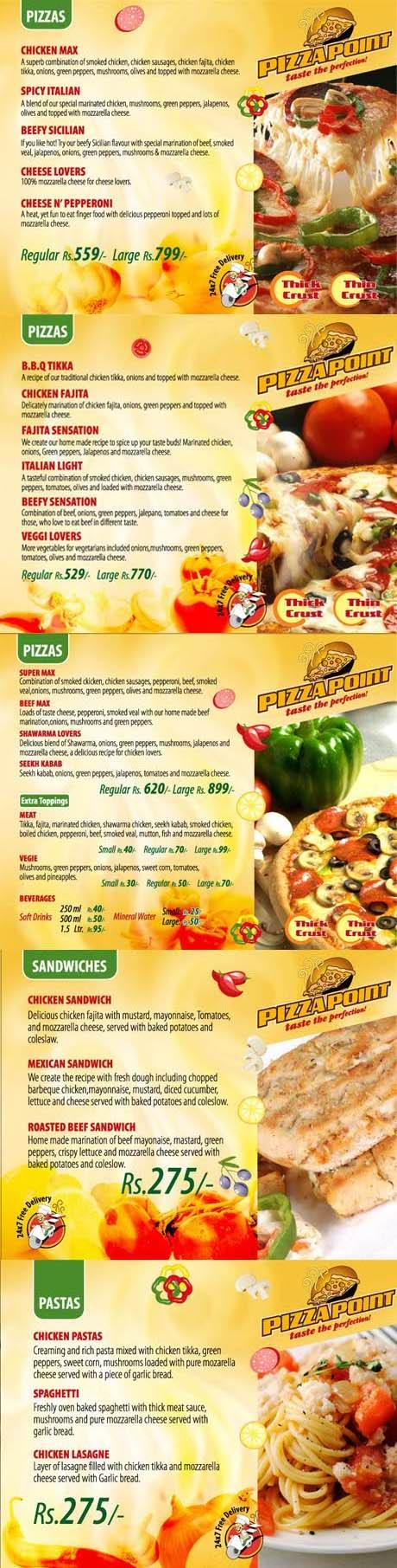 pizza point menu 1