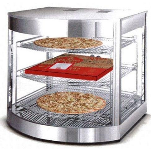 Pizzavarmer - Varmekabinett -BXDXH: 54 x 54 x 61,5