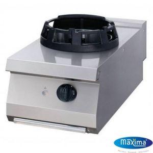 Wok Gass koketopp - 14KW - B400 x D700 x H380 mm - Maxima