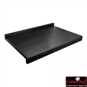 Skjærebrett - med kant - 60x40cm svart