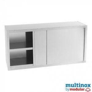 Rustfri veggskap- L 120 - Multinox