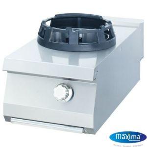 Wok Gass koketopp Single - 14KW - B400 x D900 x H380 mm - Maxima