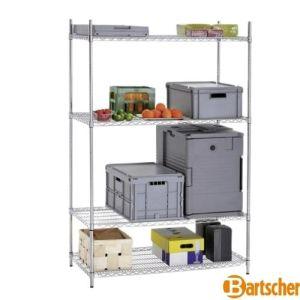 Hyllereoler - Butikkhylle fra BARTSCHER 4500 - BxDxH 121x61x184cm - 601192