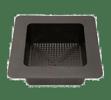 30 141 krowne metal krowne floor bar sink basket 8 x 8 bowl