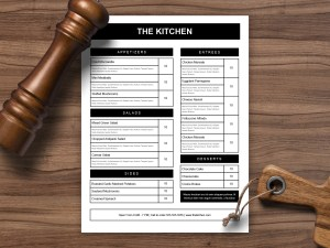 Restaurant Menu Template 27