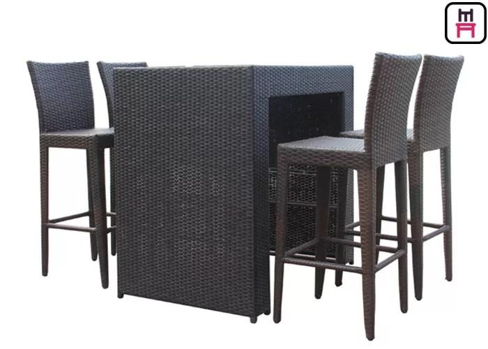 waterproof patio bar chairs