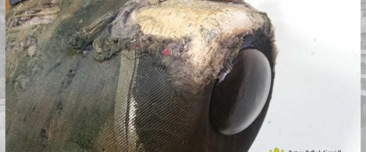 Restauro di un manichino da sartoria dell'800