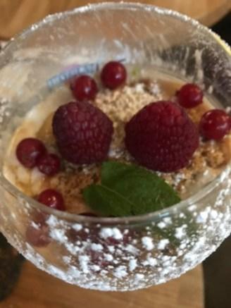 frutas yogur