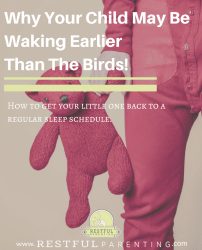 Why Your Child May Be Waking Earlier Than The Birds