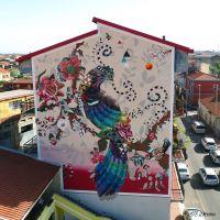 Moderni murales per colorare le strade della città: l'idea dell'artista Giorgio Casu