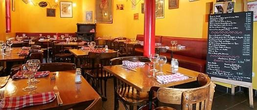 Panoramique du restaurant Les Galopins à Paris