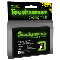 Kimtech touchscreen cleaning wipes, KIM-25932
