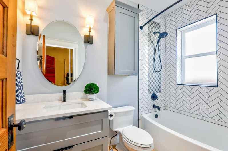 fixing water damage behind shower tiles