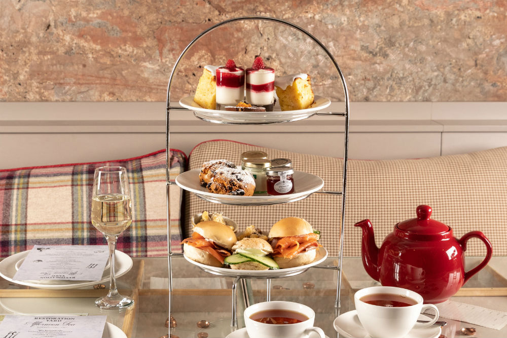 Book a table for afternoon tea at The Kitchen
