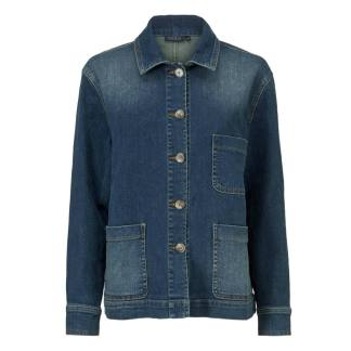 Jaci Denim Jacket by Masai Clothing | Restoration Yard