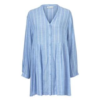 Ibene Shirt Medieval Blue by Masai Clothing   Restoration Yard