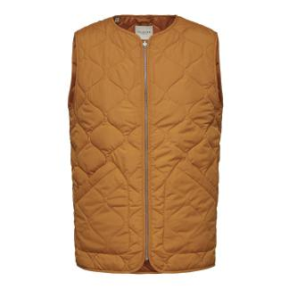 Selecte Home Soho Quilted Vest Autumn Maple