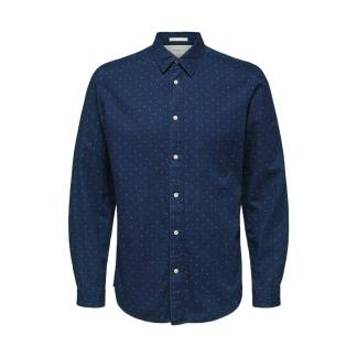 Selected Homme Nolan Shirt Dark Blue