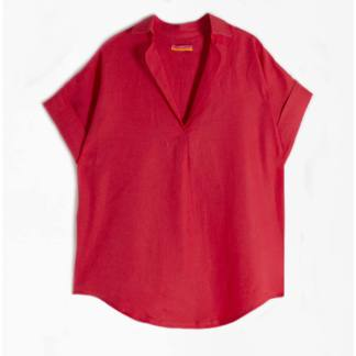 Gorgeous Monica Top Coral by Vilagallo   Restoration Yard