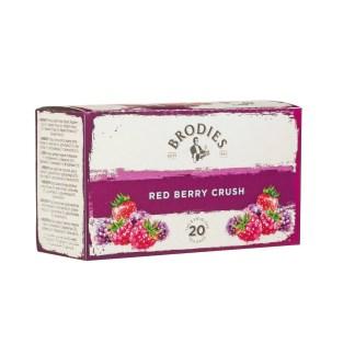 Brodies Red Berry Crush Tea Bags | Brodies Tea | Restoration Yard