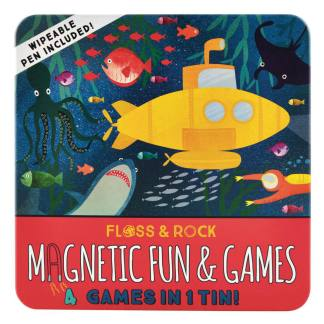 Deep Sea Magnetic Game Compendium by Floss and Rock   Restoration Yard