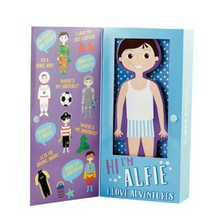 Floss and Rock Wooden Magnetic Dress Up Doll Alfie Floss and Rock Wooden Magnetic Dress Up Doll Alfie Restoration Yard