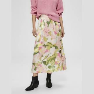 Selected Femme Mola Ankle Skirt in Rosebloom | Restoration Yard