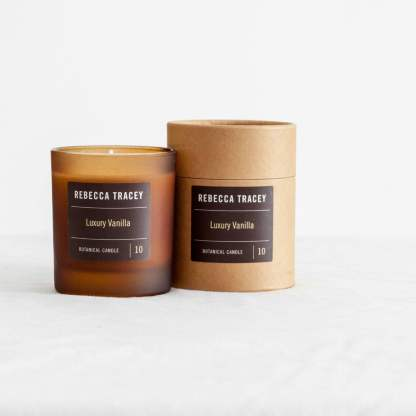 Rebecca Tracey Luxury Vanilla Botanical Candle