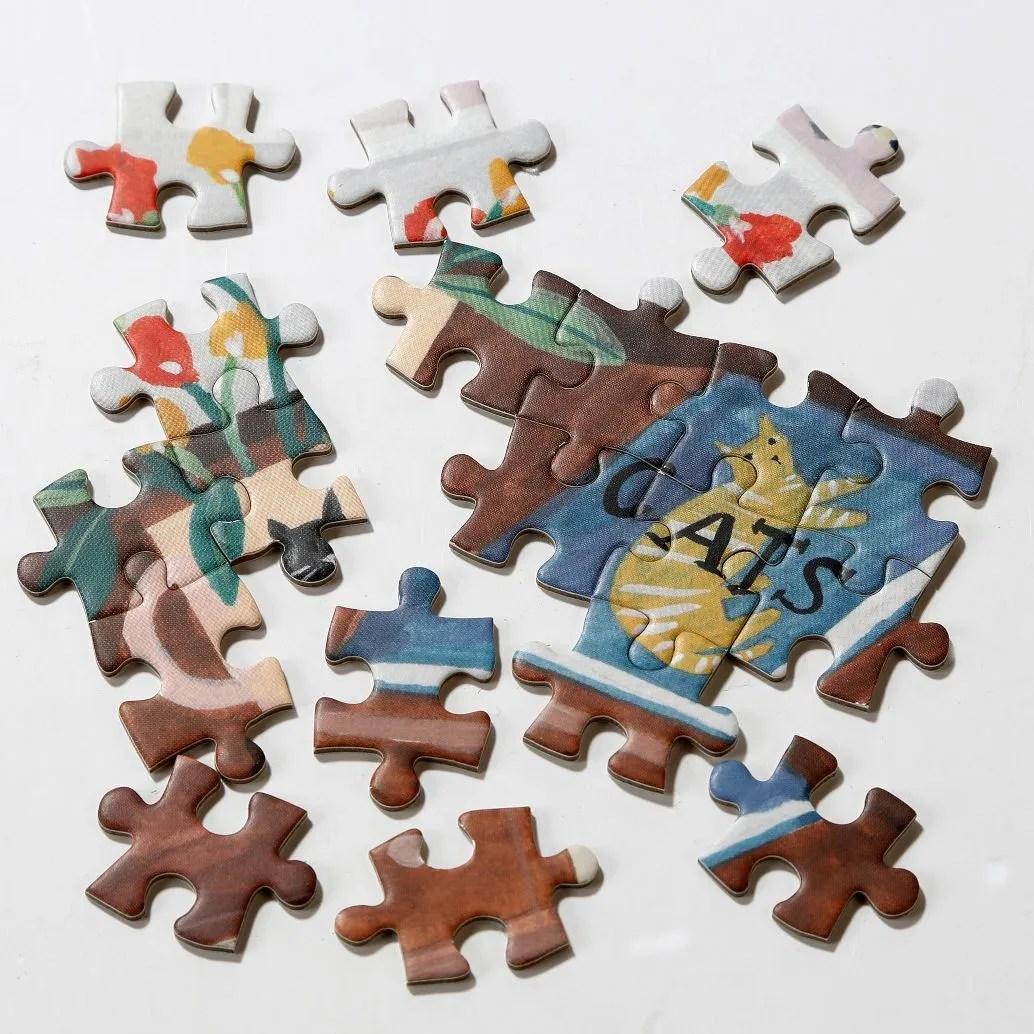 Talking Tables Cat 500 Piece Jigsaw