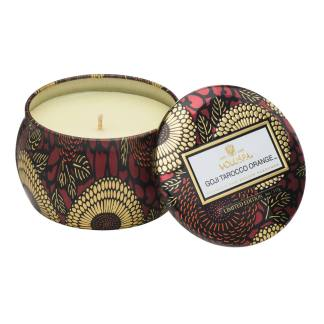 Goji and Tarroco Mini Tin Candle By Voluspa | Restoration Yard
