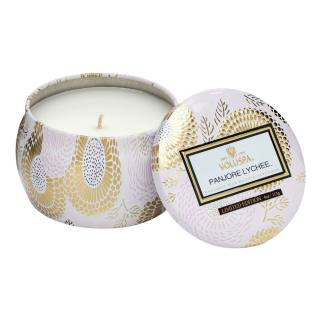 Panjore Lychee Mini Tin Candle By Voluspa | Restoration Yard