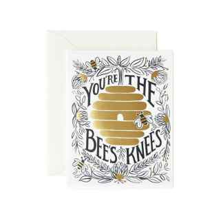 You're The Bees Knees Greeting Card by Rifle Paper | Restoration Yard