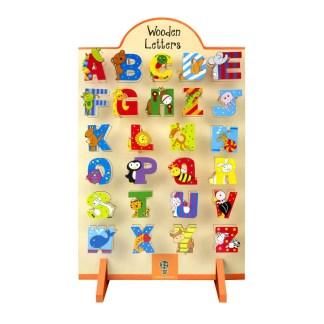 Children's Wooden Alphabet Letters