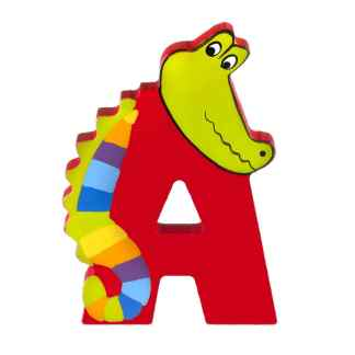 Wooden Letter A by Orange Tree Toys | Restoration Yard